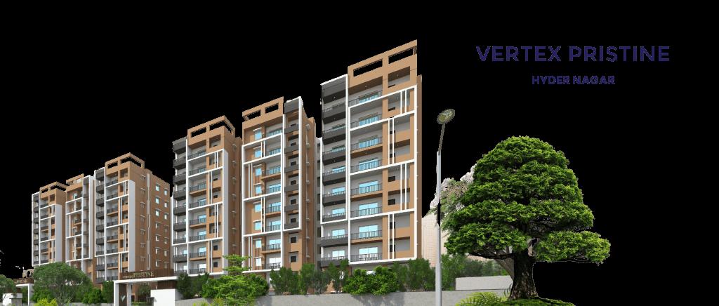 2 & 3 Bhk Apartments-Vertex Pristine