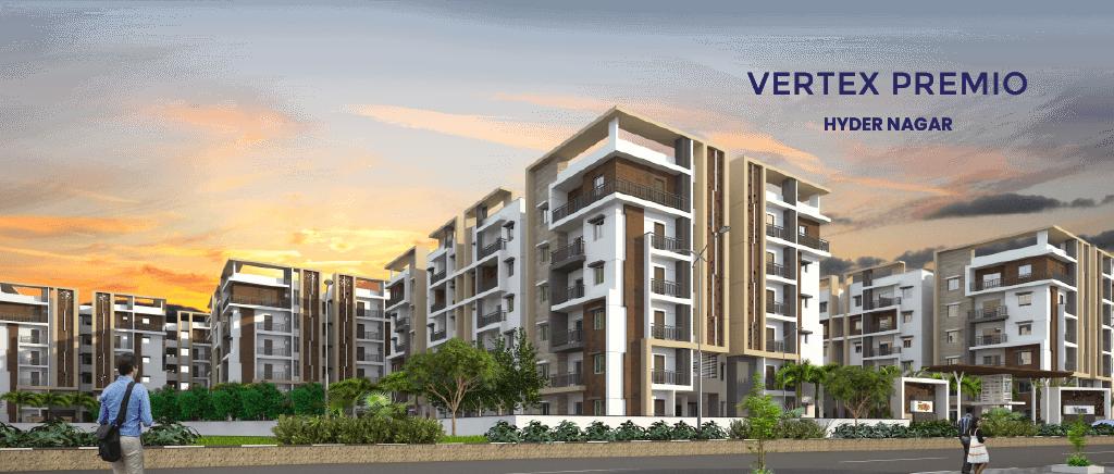 Premium 2 & 3 Bhk Gated community Apartments - Vertex premio