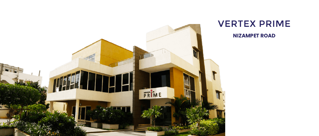 2 & 3 Bhk Apartments in kukatpally - Vertex Prime