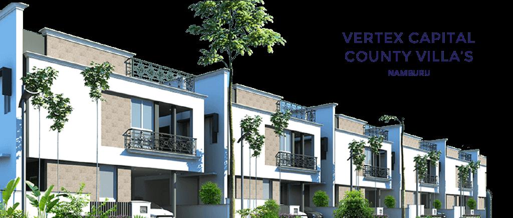 premium villas for sale in guntur - Vertex Capital County Villas