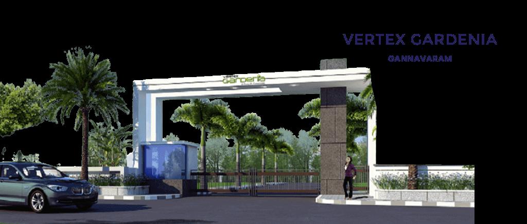 Open Plots in Gannavaram - VERTEX GARDENIA