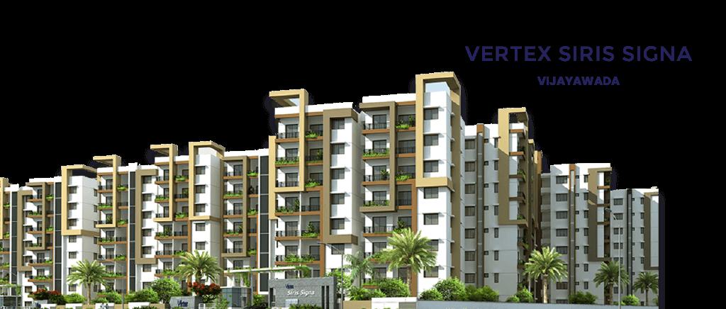 2 & 3 Bhk gated community Apartments in Vijayawada - Sirissigna
