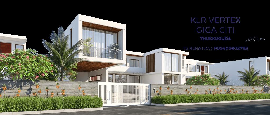 Villa Community & Premium Plots - KLR VERTEX GIGA CITI