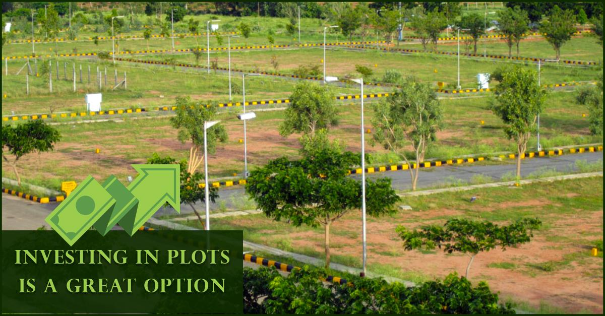 Great Investment option for open plots