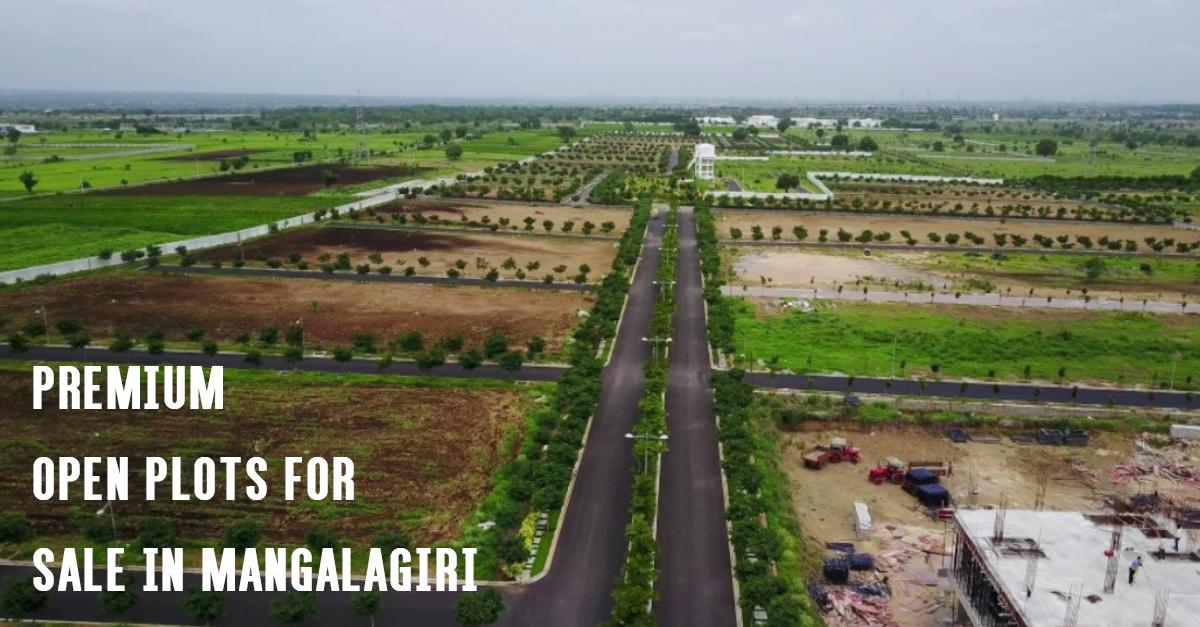 Premium Open Plots for Sale in Mangalagiri _ Capital Vista West