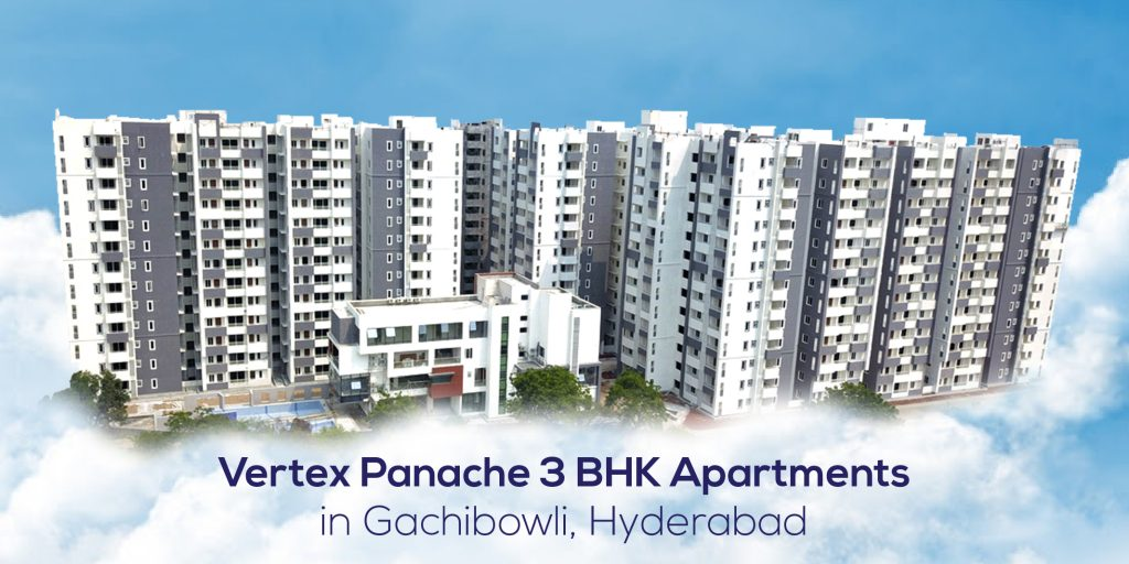 Vertex Panache 3 BHK Apartments in Gachibowli, Hyderabad