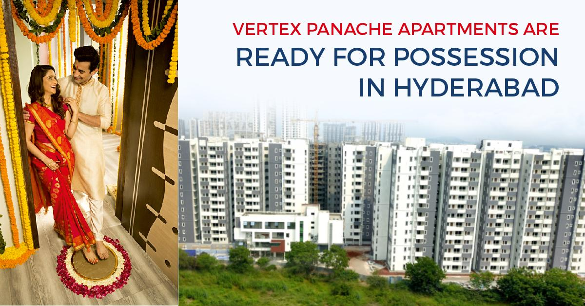 Vertex Panache Apartments are ready for Possession
