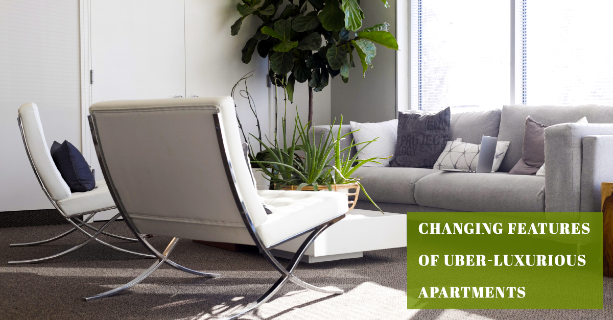 Changing Features of Uber - Luxurious Apartments - Vertex Panache