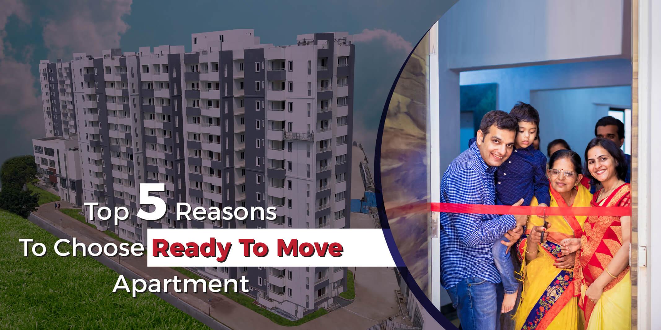 Premium 3 BHK ready to move in apartments in Gachibowli, Hyderabad