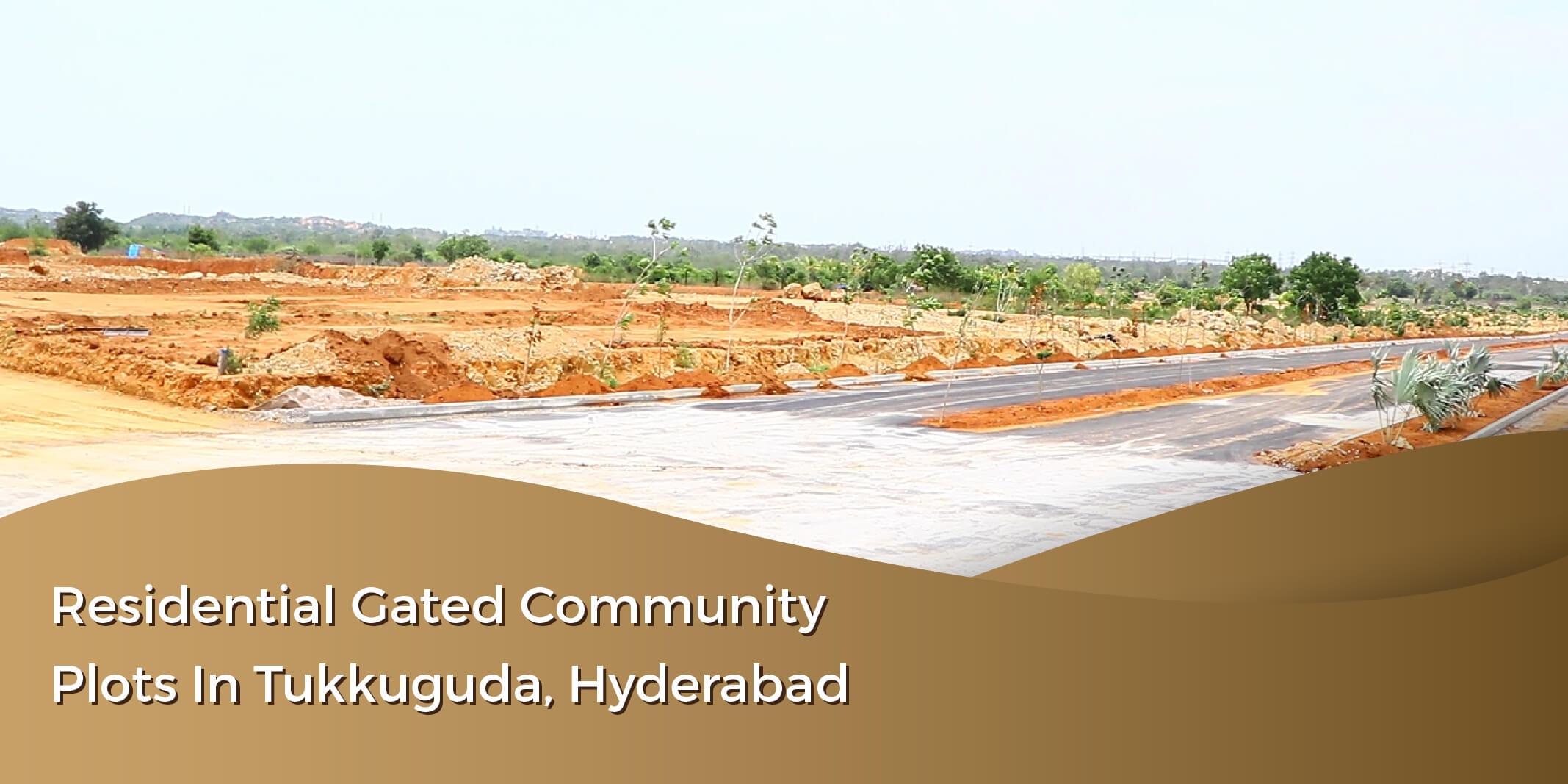 Residential gated community plots in Tukkuguda, Hyderabad