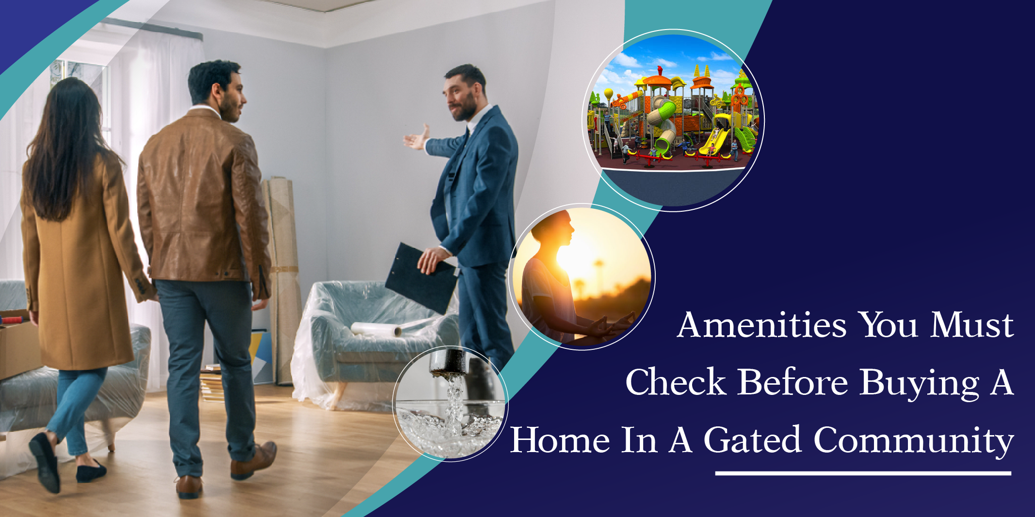 Amenities You Must Check Before Buying a Home in a Gated Community